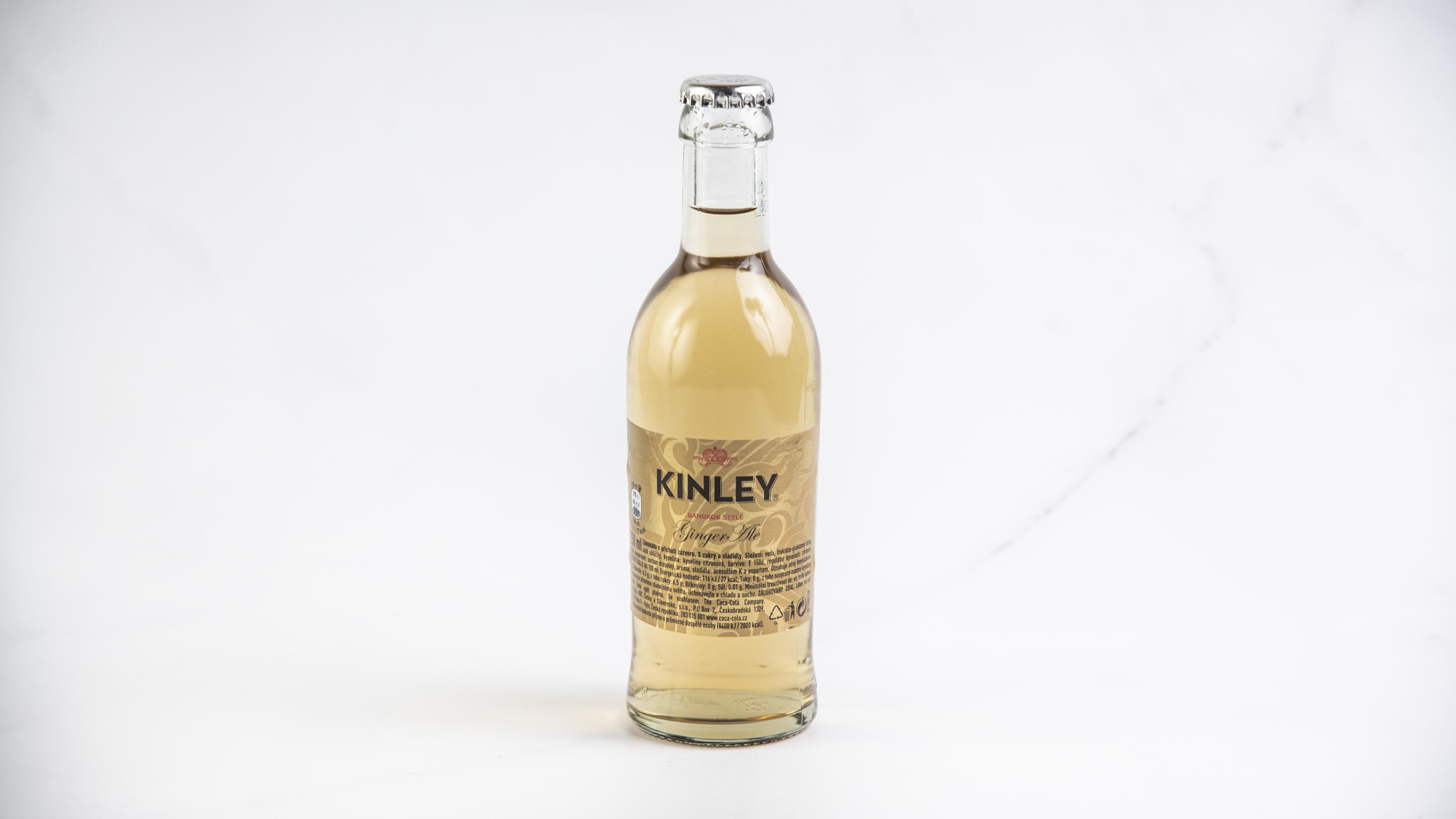 Ginger Ale Kinley 0,25 l